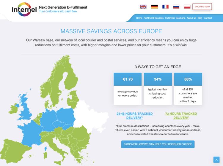 Project Screenshot - https://internel.eu