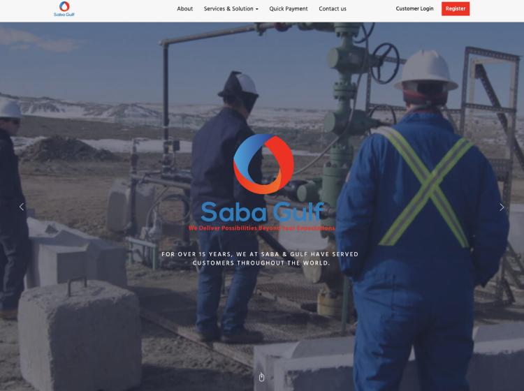 Project Screenshot - https://sabagulf.ca