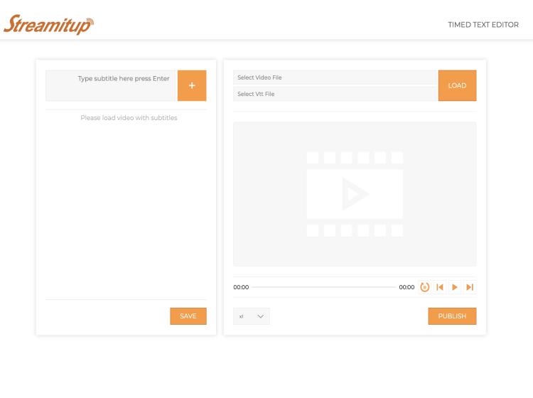 Project Screenshot - http://www.streamitupcdn.net/draft_db/database/timedTextEditor/
